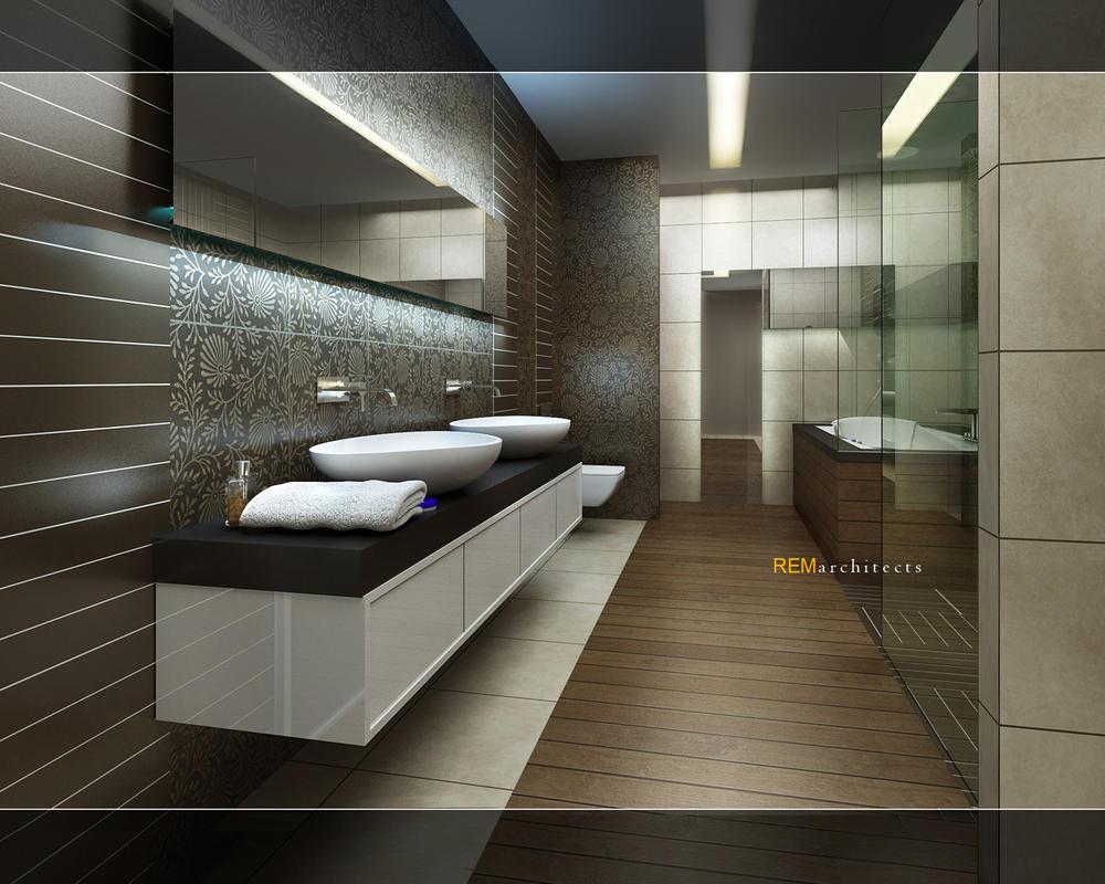 Bathroom 3d by ertugy on deviantart for Bathroom design online 3d