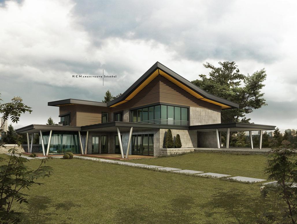 Villa Project By Ertugy On Deviantart