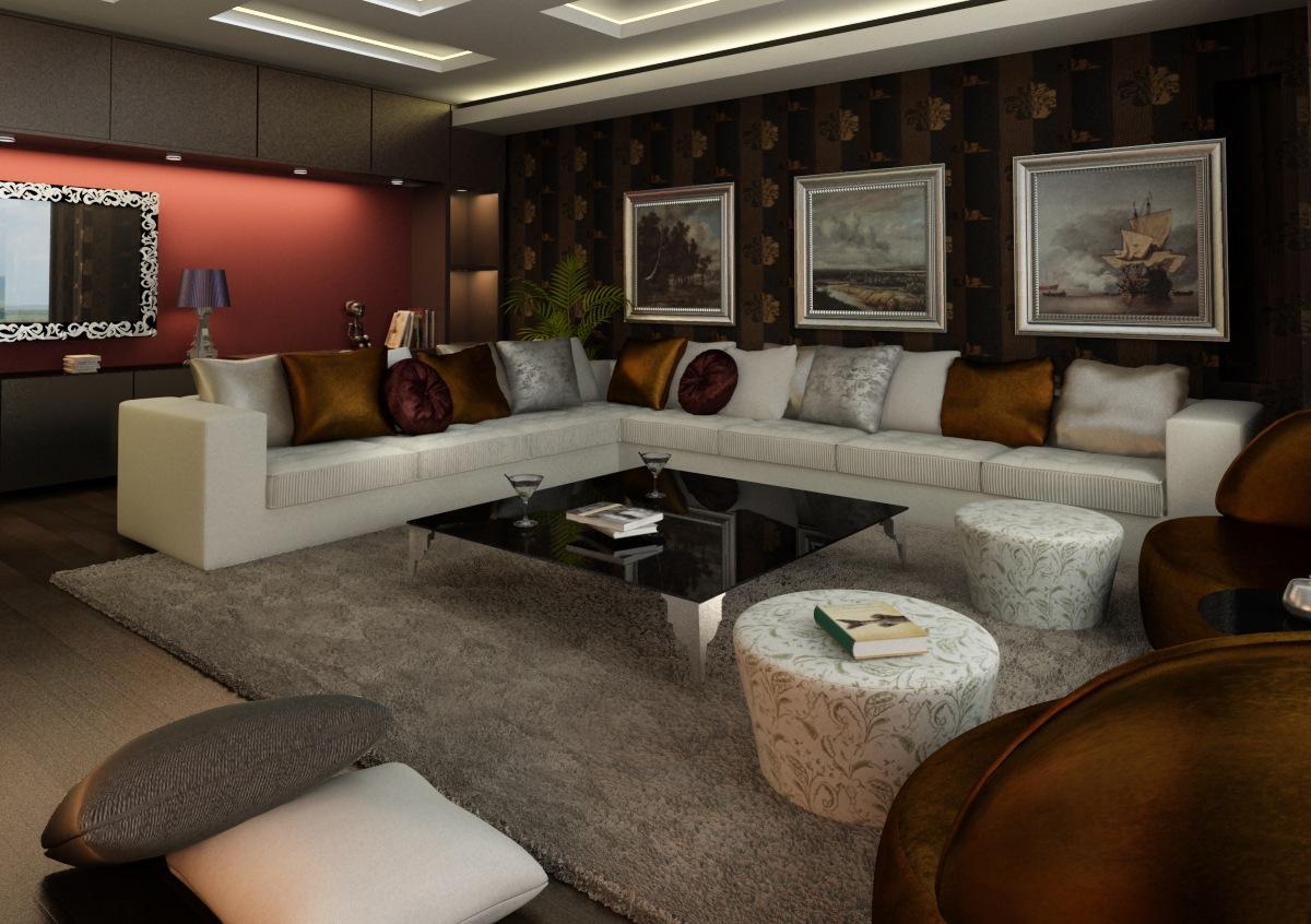 Living Room Avantgarde By Ertugy On DeviantArt - Avant garde living rooms