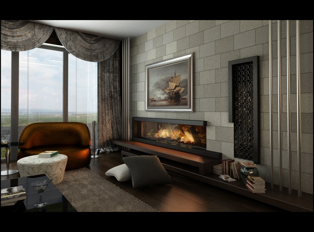 living room avantgarde 2 by Ertugy on DeviantArt
