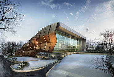 convention centre by Ertugy