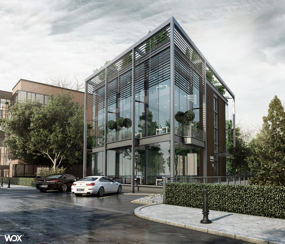 office building design by Ertugy
