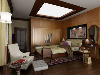 art deco bedroom by Ertugy