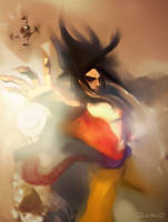 Goku 4 from GT by shurikmx