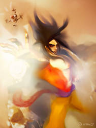 Goku SS4 Print Available by shurikmx
