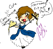 Cute Lil Italy :Hetalia: by ShiShiGirly