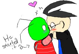 Puppet Snogging :ZaDr Alert: by ShiShiGirly