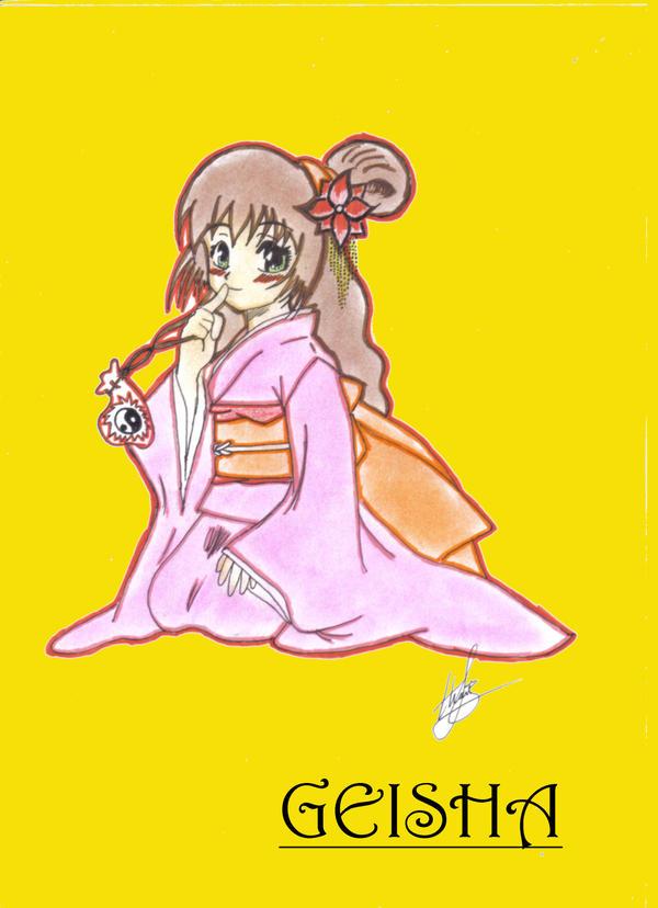 Geisha by alucard-strike