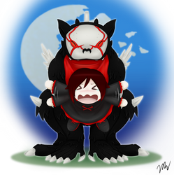 Chibi Ruby and Beowolf
