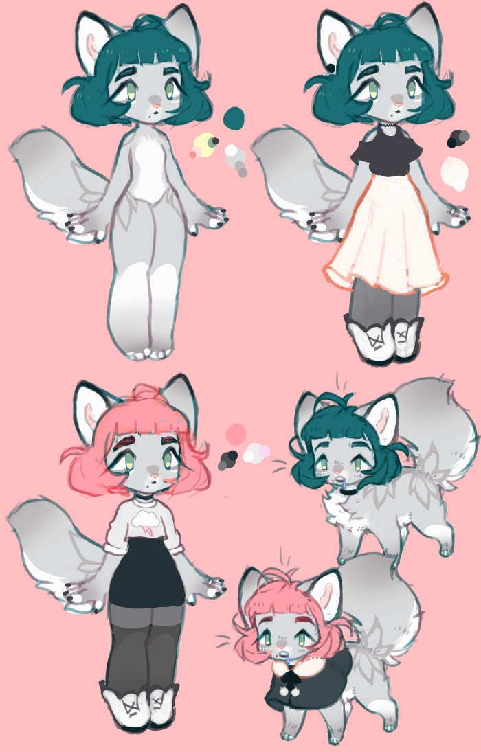 Aria reference sheet by catlinq