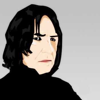 Severus Snape by Reeciekins