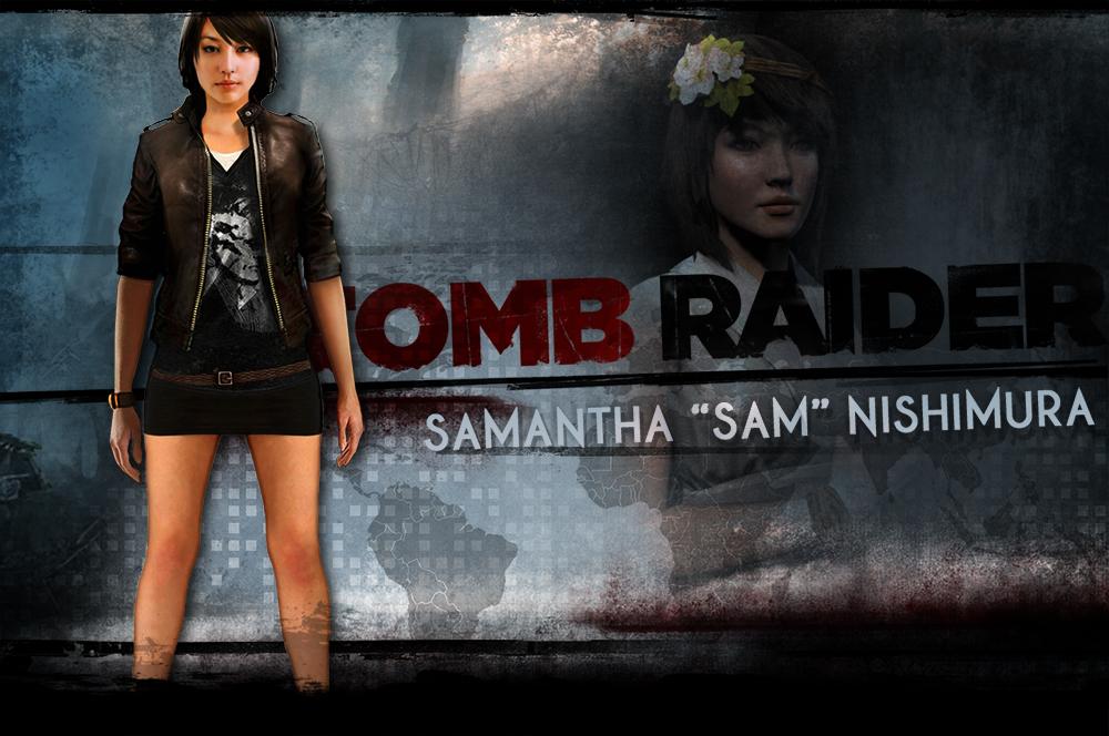 http://orig12.deviantart.net/f20b/f/2013/183/8/6/tomb_raider___samantha_sam_nishimura_by_garrussylar-d6bmns7.jpg