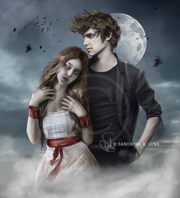 - Twilight: Bella and Edward - by SandyLynx