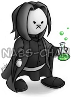 Severus Snape drawn Hare Style by Nabs-chan