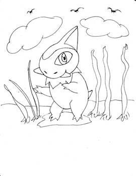 Axew of Pokemon