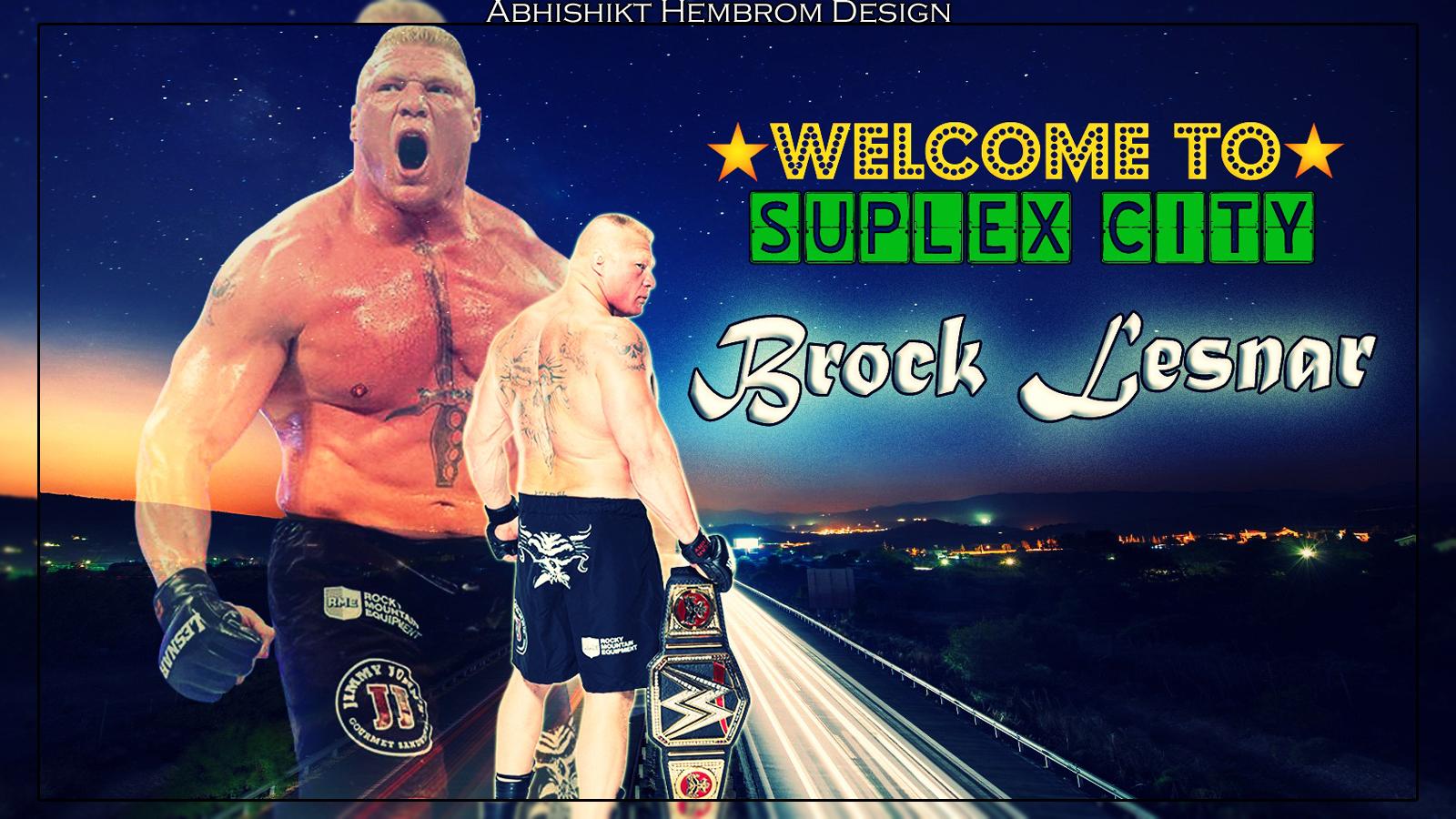 Brock Lesnar Wallpaper By Abhishikt