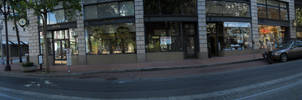 downtown pano