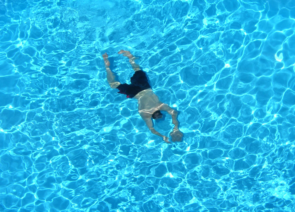 Man in pool by big diddy on deviantart for Pool man show