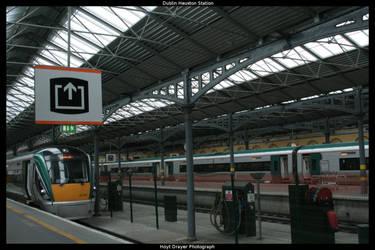 Dublin Heuston Station by HerrDrayer