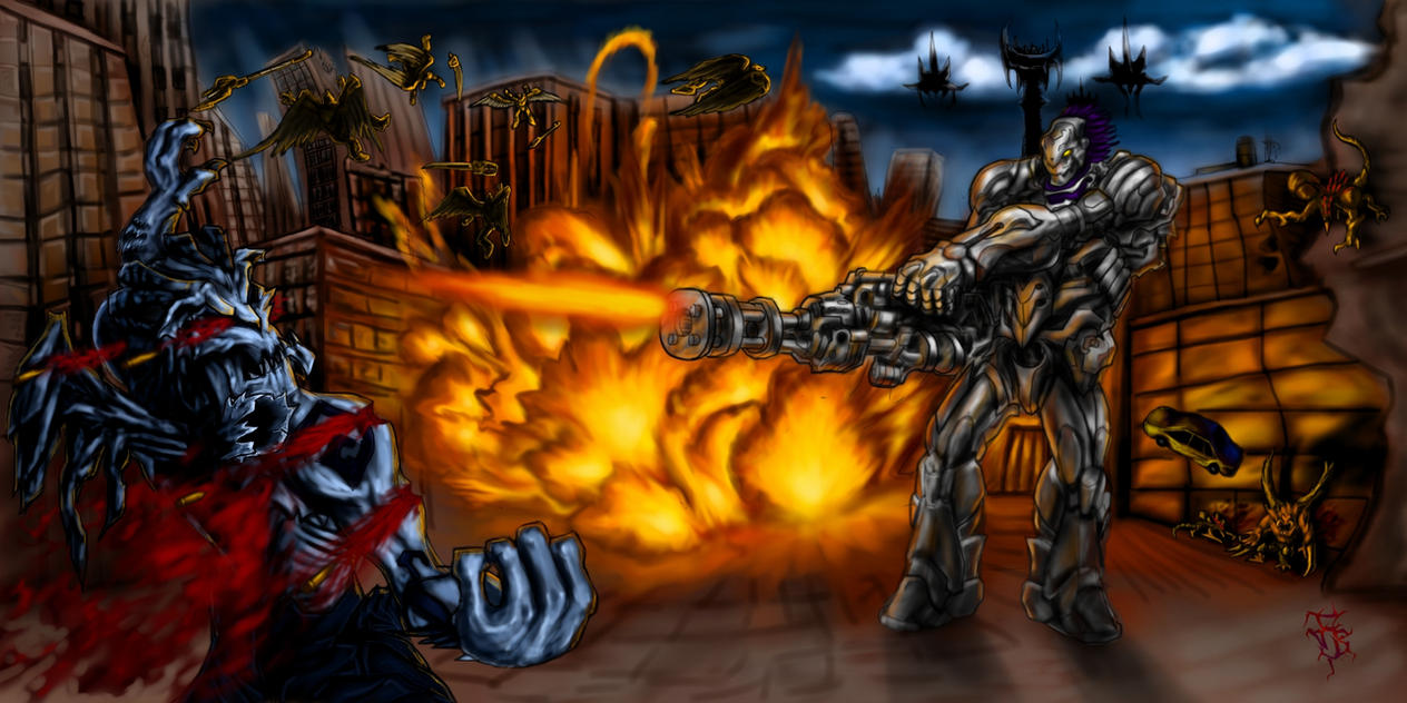Darksiders Strife Punisher Form by funnyberserker on ...