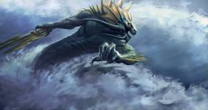 Naga Slithereen Guard