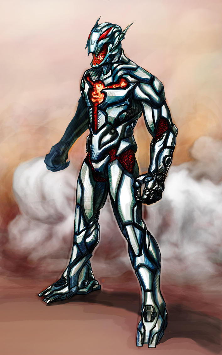 Ultron the Annihilator Concept by funnyberserker