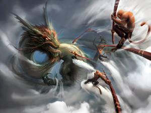 Monkey King v Dragon King: Dawn of Heaven Ruin