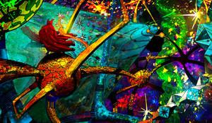 Strange Dimension Repaint Ditko Tribute by funnyberserker
