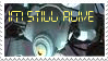 GLaDOS Stamp by EvilLuigi