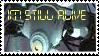 GLaDOS Stamp by EvilLuigi