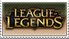 LEAGUE OF LEGENDS STAMP by BlackwaveButterfly