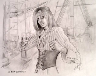 Pirate Lass by bloodymary99