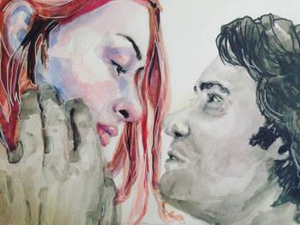 Eternal Sunshine of the Spotless Mind by allyzagroves