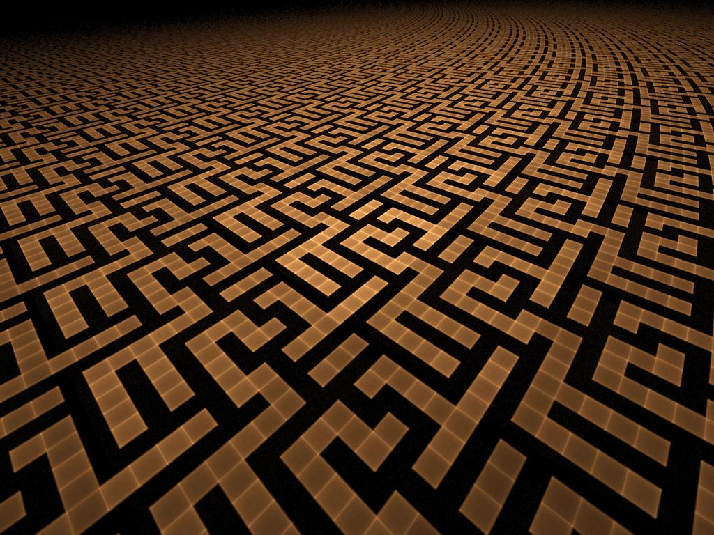 Une nouvelle qui (n')a sa place ici et/ou ailleurs - Page 7 Labyrinth_by_Shortgreenpigg
