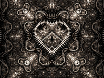 Mechanical Heart by Shortgreenpigg