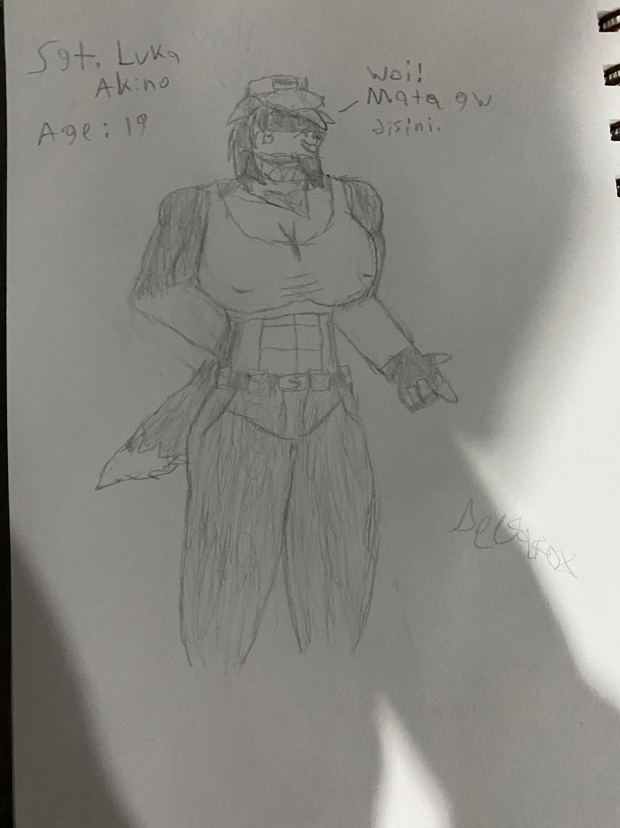 Sgt. Luka Akino