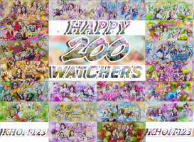 HAPPYY 200WATCHERS BY KHOITT123 by KhoiTT123