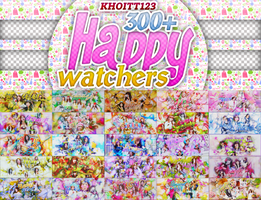 PACK HAPPY 300+ WATHCHERS BY KHOITT123 by KhoiTT123