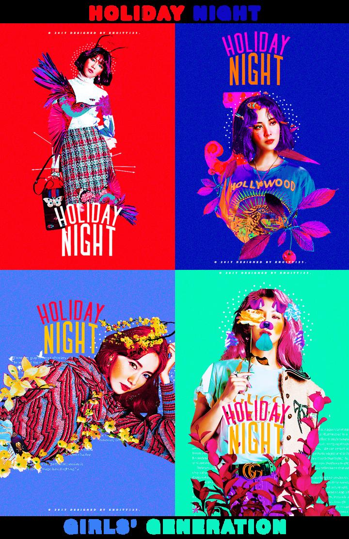 [art.work] HOLIDAY NIGHT - SNSD comeback by KhoiTT123