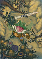 frog by Jaquio