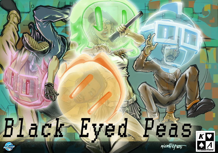 """FAME: BLACK EYED PEAS""  PROMO by Stauff"