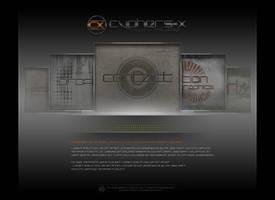 CX New Portfolio-Interface by cyphers-x