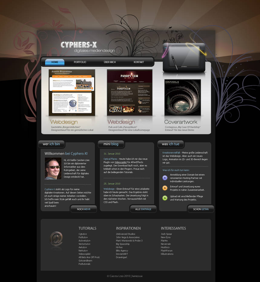CX Portfolio 2010 by cyphers-x