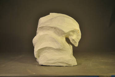 Plaster nonrepresentational 02 by Caish
