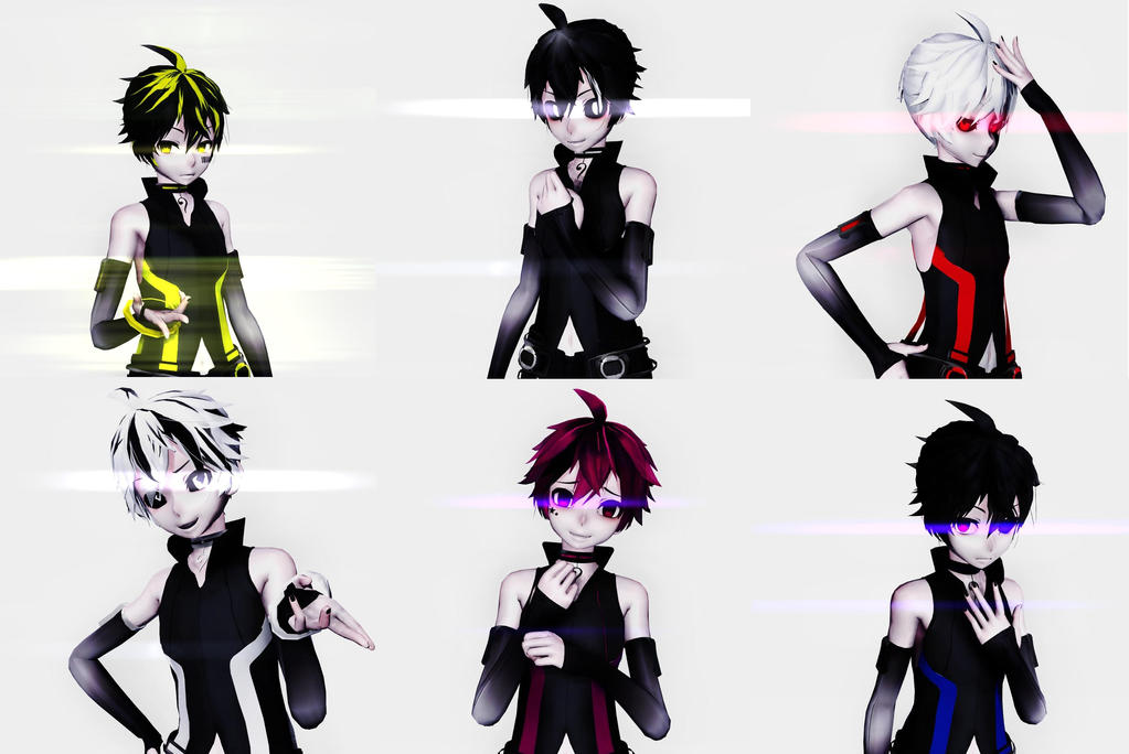 [MMD/MikuMikuDance]Len Virus (Icons?) by Lonely-Insanity