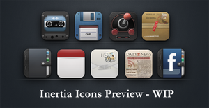 Inertia icons preview - WIP