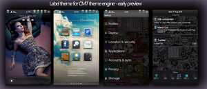 Label Theme for CM7 Preview