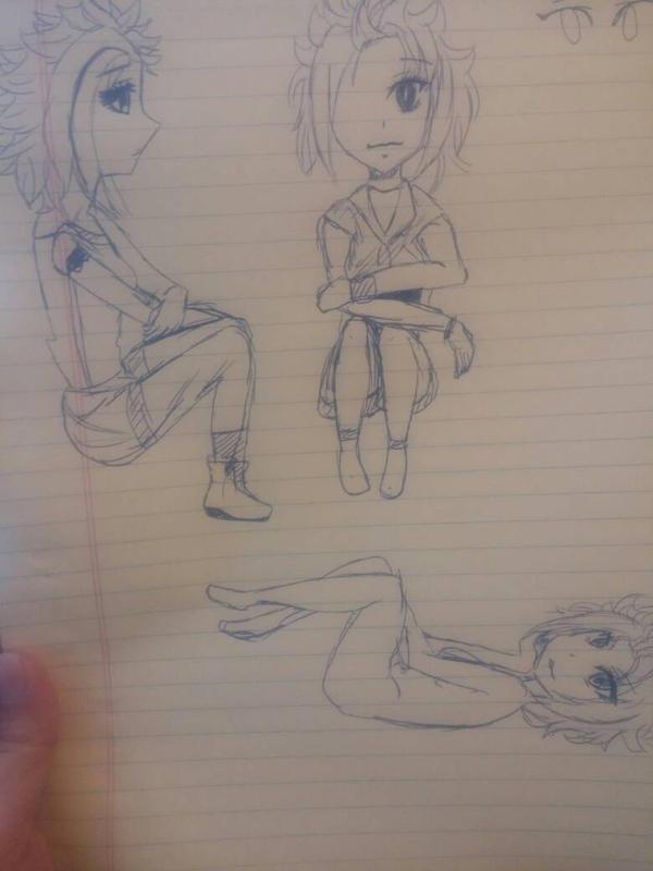 doodles by Mercurius-sama