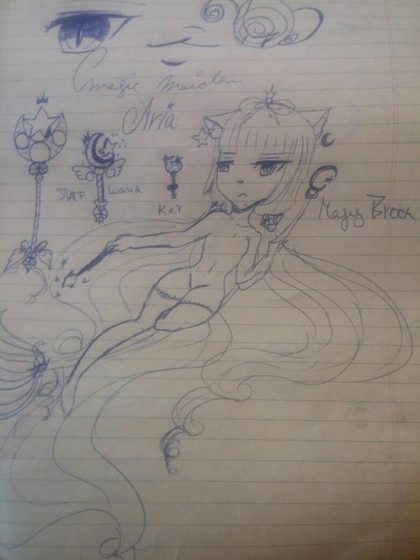 Aria the Magic maiden by Mercurius-sama