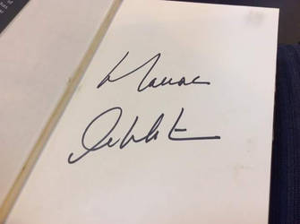 William  Shatner's Autograph by FlameAlchemy12